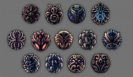 Photo of early beta charms