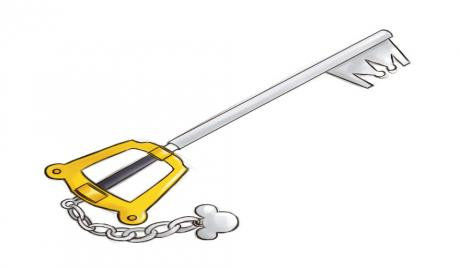 Also known as Mickey's main keyblade.