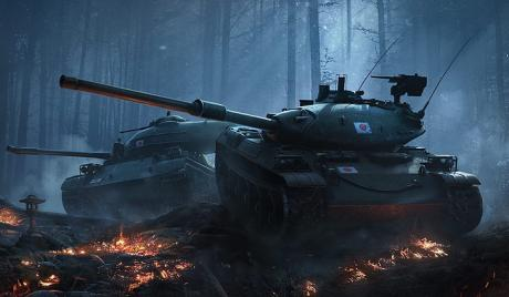Medium tank, world of tanks, tank game