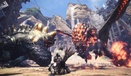 Games Like Monster Hunter World