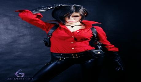 Ada Wong in Resident Evil 6 Attire