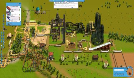 Theme Park Games, park simulator games