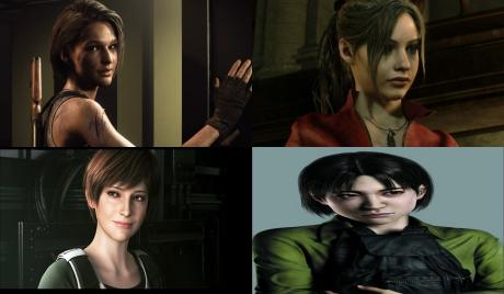 All Resident Evil Female Characters, best Resident Evil Female Characters