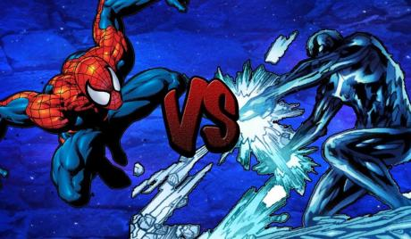 Spider-Man vs. Iceman