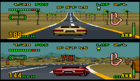 Split-Screen Racing Games