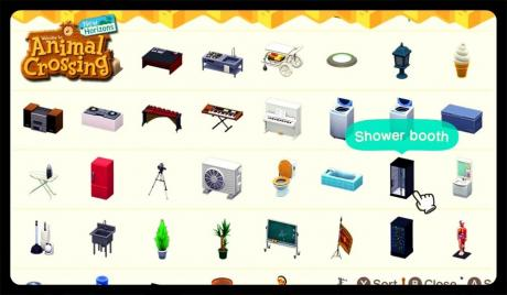 Animal Crossing Furniture