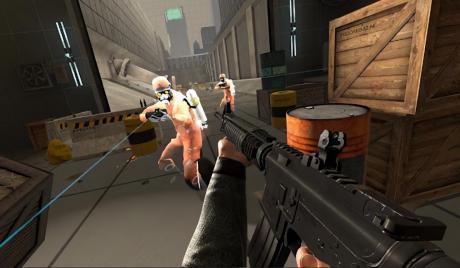 An intense battle between players