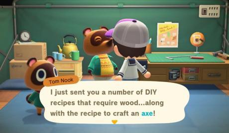 Animal Crossing New Horizons Best Axe