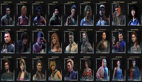 dead by daylight, dbd, survivors, best survivors, most fun survivors, fun