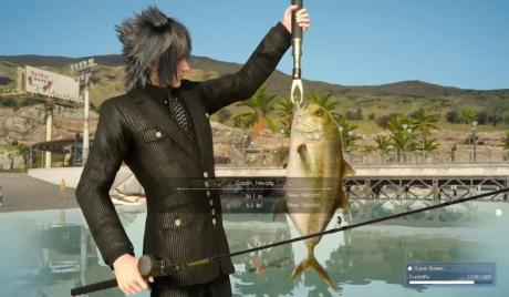 FFXV Best Fishing Spots