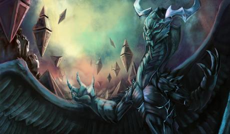 Ugin art by CarbonTrap