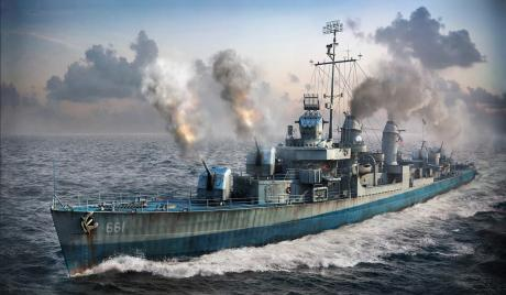 World of Warships Best Destroyer Lines
