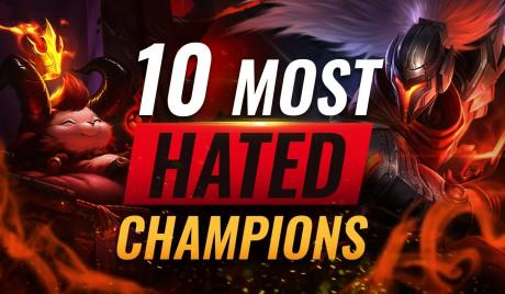 League of Legends Most Hated Champions
