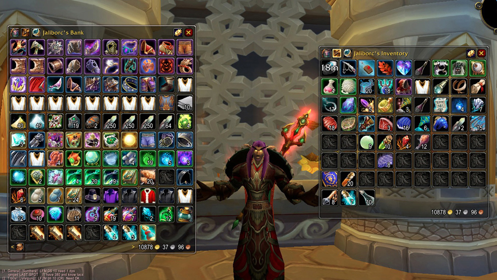 Madison : Best in bags wow addon
